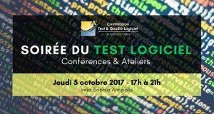 Communiqué de presse – 1ère soirée du Test logiciel à Sophia Antipolis, le 5 octobre