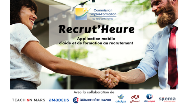 Recrutement & Innovation : Recrut'Heure, une application mobile pour bien recruter